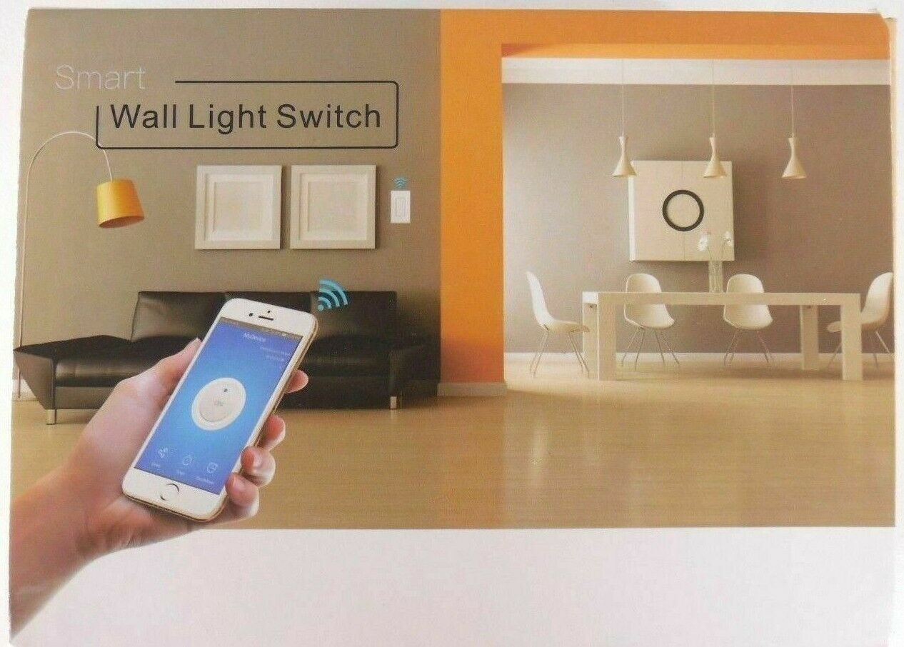 Phone Remote Controlled WiFi Smart In Wall Light Switch KS-602