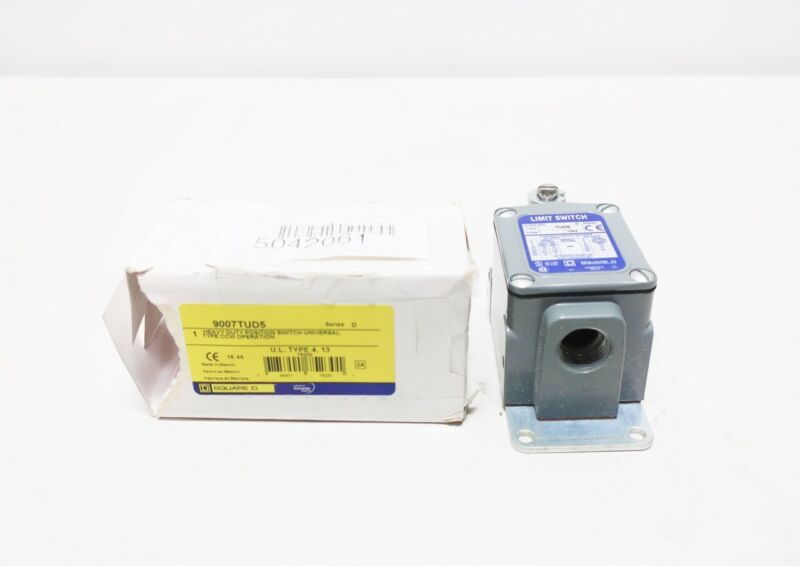 Square D 9007TUD5 600v-ac Limit Switch