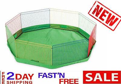 GuineaPigCage PetBarrier RabbitIndoor HamsterFence Gate Mini GerbilHome