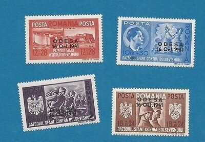 WKII Rumänische Legion Nr.  712-715  Odesa  komplett ** !!