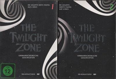 l 1-3 DVD Boxen 102 Episoden auf 18 DVD, St.1 originalverp. (Twilight Zone)