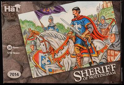 Airfix Sheriff of Nottingham - HO reissue in SILVER - HAT 7014 - mint in box