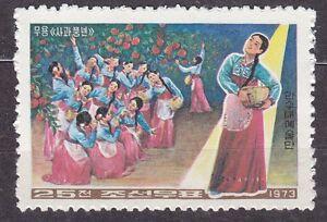 KOREA 1973 mint(*) SC#1127 25ch, Mansudae Art Troupe, Bumper Harvest of Apple. - <span itemprop=availableAtOrFrom>Kraków, Polska</span> - Zwroty są przyjmowane - Kraków, Polska