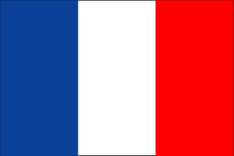 "FRANCE FLAG 18"" X 12"" Boats treehouses caravans trucks PARIS FLAGS FRENCH LYON"