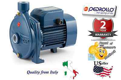 Pedrollo Centrifugal Water Pump Industrial Cpm600 0.5 Hp 110v Made In Italy 1