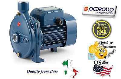 Pedrollo Centrifugal Water Pump Industrial Cpm610 0.85 Hp 110v Made In Italy