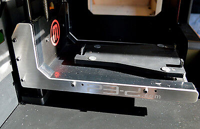 Makerbot Replicator 2 Aluminum Arm Stiffeners Usa Made Replicator 1 And 2