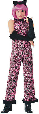 Purr-fect Pink Kitty Cat Leopard Animal Cute Halloween Child Costume