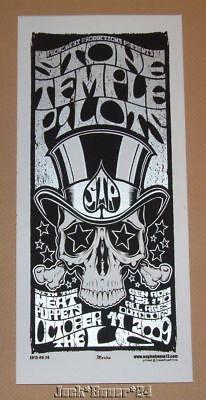 Stone Temple Pilots Columbus Mike Martin Poster Handbill Print Scott Weiland