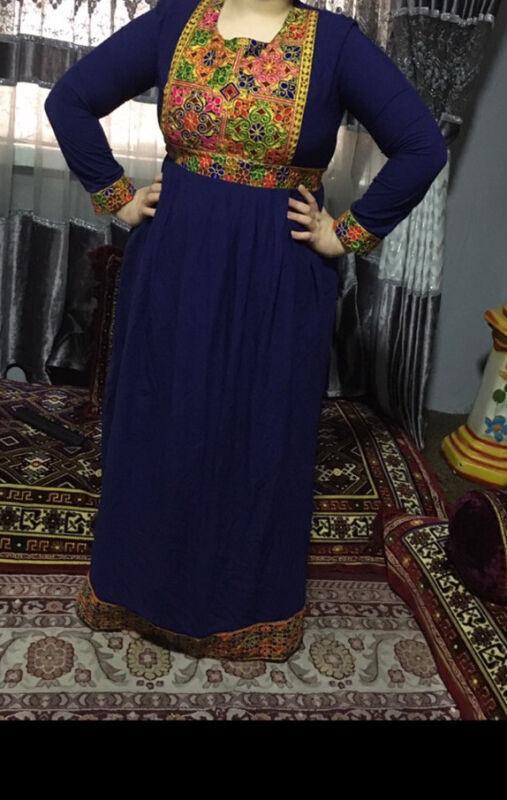 Afghani Dress Full Embroidery Afghan Traditional Dress