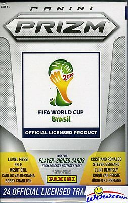World Cup 2014 Panini Prizm HOBBY Hanger Box-on FIRE! Look for $2000 Autographs!