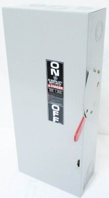 New GE TG3223 240V 100 Amp 2P General Duty Fusible Safety Switch 100A NIB 100 Amp Safety Switch