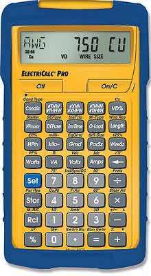 Calculated Industries ElectriCalc Pro Calculator 5070 with Armadillo Case