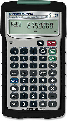 Calculated Industries Machinist Calc Pro International 4089 Calculator with Case