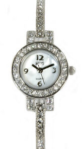 Ladies watch by Eton with diamante detailing and a delicate strap FREE postage