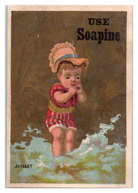 Use Soapine The Dirt Killer, Juillet Victorian Trade Card