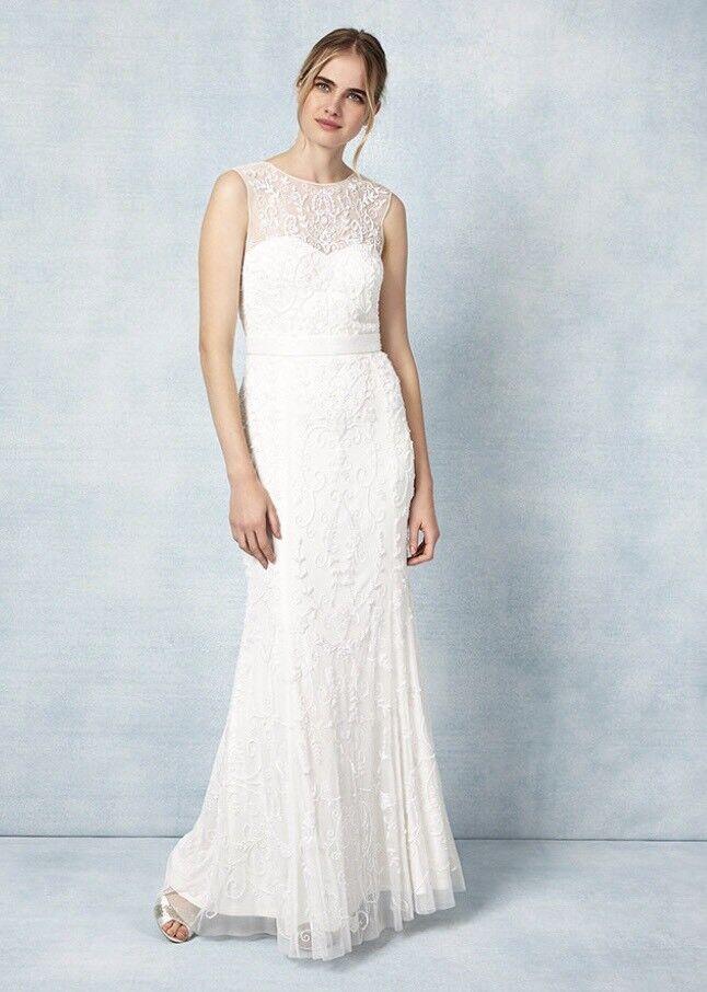 Phase Eight Ella Rose Wedding dress UNWORN Size 8   in East End ...