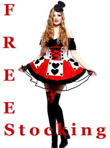 Queen-of-Hearts-Ladies-Fancy-Dress-Costume-Alice-In-Wonderland-Costume-Outfit