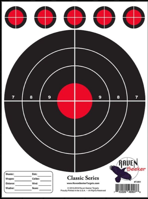 """""""150"""" QTY Range Shooting Pistol / Rifle TARGETS! Awesome Price! Great Targets!"""