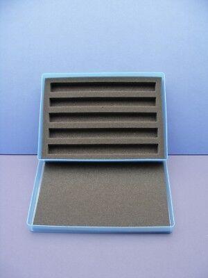 N Gauge  Plastic Storage Box & Foam Tray - BLUE # 113