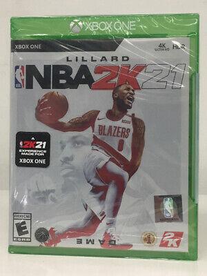 NBA 2K21 (Xbox One) BRAND NEW SEALED SHIPS FREE