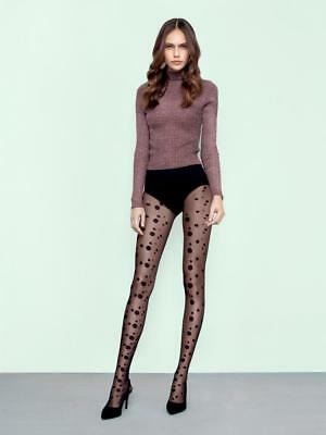FIORE SODA POLKA DIFFERENT SIZE DOTS 20 DENIER PANTYHOSE TIGHTS 3 SIZES - Dotted Tights