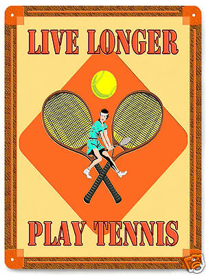 TENNIS BALL METAL SIGN rackets SPORTS  SPALDING gym GREAT GIFT room decor 232