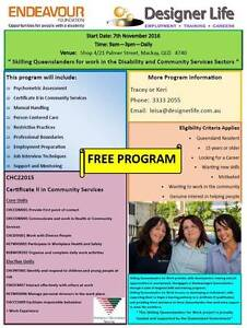 Certificate II - Community Services - $0 Mackay Mackay City Preview