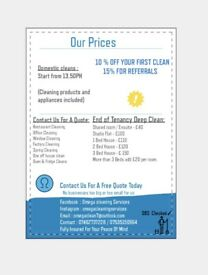 Omega Cleaning Services