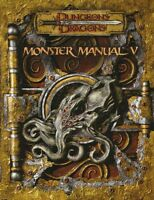 ⚝ Monster Manual 5 V ⚝ D&d 3.5 Inglese Dungeons & Dragons Manuale Dei Mostri 3.0 -  - ebay.it