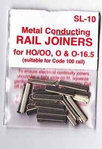 Peco-SL-10-Pack-of-24-OO-Gauge-Track-Rail-Joiners-Fishplates-Model-Railway-New