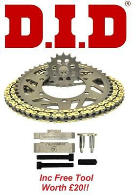 DID VX CHAIN AND SPROCKET KIT SET  TOOL TRIUMPH 675 DAYTONA 520 RA
