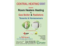 Central Heating Grant - Free Boiler & Radiators