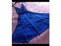 WOLLATON Gorgeous monsoon dress 100%silk rrp £90