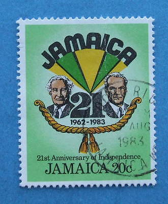 JAMAICA  1983  INDEPENDENCE   20cents  SG581  FU