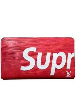 Louis Vuitton X Supreme Wallet Red/Black ( MoreStyles Brands Colors Available )