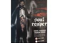 Halloween Boys Soul Reaper Costume 5-7 Years