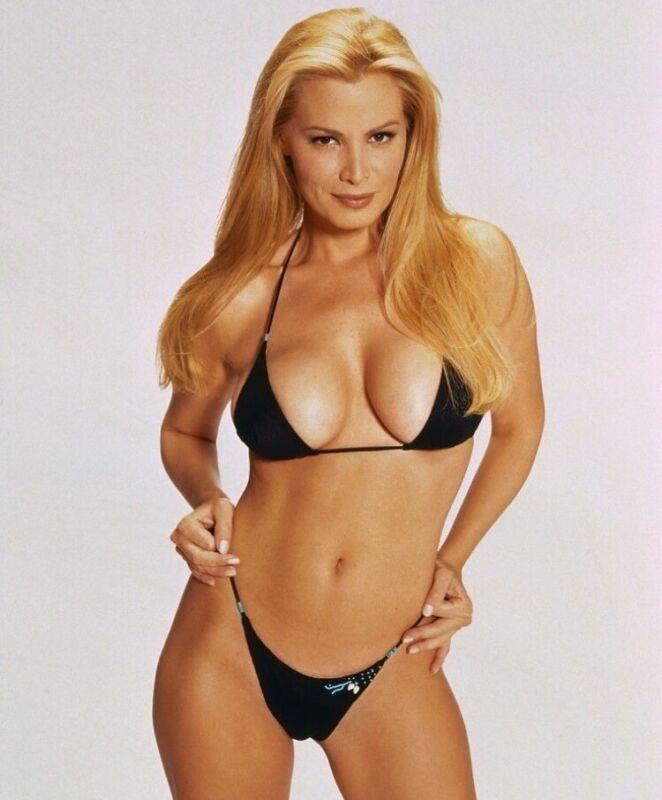 Cindy Margolis - In A Black Bikini !! What A Body !!!!