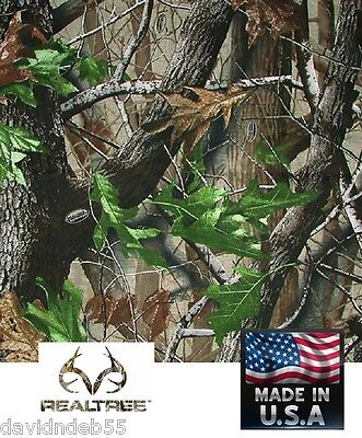 REALTREE HARDWOODS GREEN HD Camouflage CAMO Bandana BANDANNA Head Wrap*USA Made Hd Green Camo