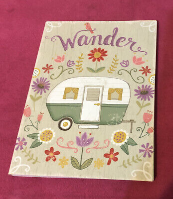 Molly Rex Wander Sticky Note Page Marker Set In Portfolio Folder Camper New