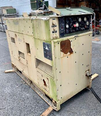 Mep-816a 400hz 60kw Avionics Ground Power Quiet Diesel Generator Deere 6059t
