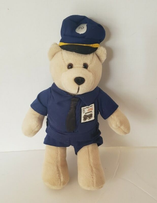 """POLICE OFFICER UNITED STATES POST OFFICE 13 CENT STAMP 11"""" BEAR 2006"""