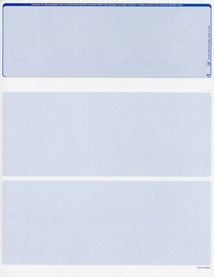 Blank Check Stock - Blank Check Paper Stock Great for Payroll-Check On Top-Count/250