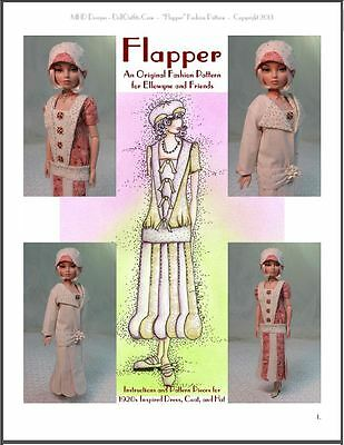 """""""Flapper"""" Fashion Pattern - 1920's Inspired Design for Ellowyne and Amber!"""