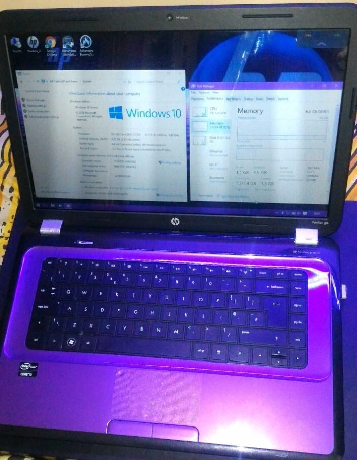"laptop 15.6"" HP Pavilion G6Corei3 2.40GHz6GB RAMnew quick Win10Office2016 ProPlusin Southampton, HampshireGumtree - laptop 15.6"" HP Pavilion G6 • Core™i3 2.40GHz •6GB RAM •new quick Win10 •Office2016 ProPlus all software genuine and activated lifetime licenses own serial KEY to note down • Intel® Core™i3 2.40GHz • 6GB DDR3 RAM • 500GB HDD •..."