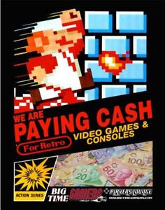 BUYING RETRO VIDEO GAME COLLECTIONS NINTENDO SEGA