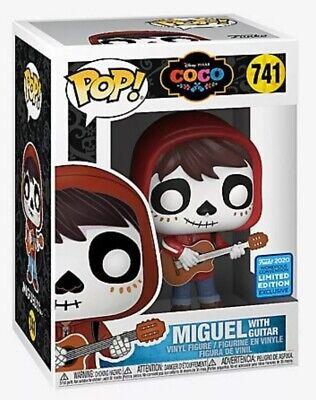 Funko Pop! Pixar Disney Coco Miguel Guitar 2020 Wonderous Con Exclusive #741