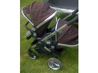 icandy peach blossom double buggy