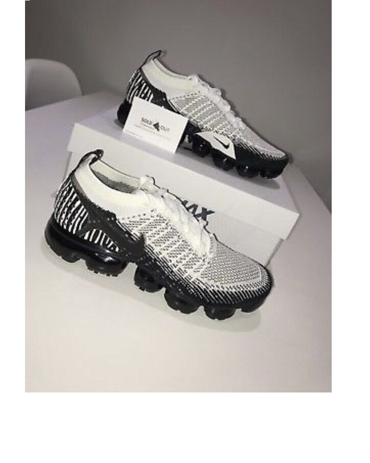 60051521a01 Nike Air VaporMax Flyknit 2 Zebra Limited Edition - UK 9 - Brand New In Box  with receipt