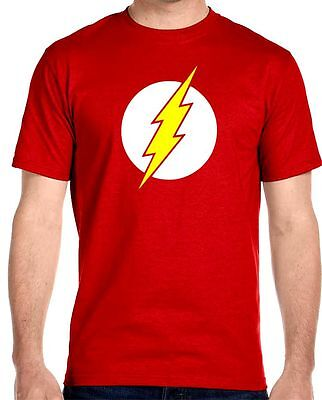 The Flash T-Shirt Sheldon Cooper, Youth - Adult Sizes - Flash Adult